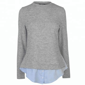 Top selling products wholesale women clothing long sleeve ladies knitwear