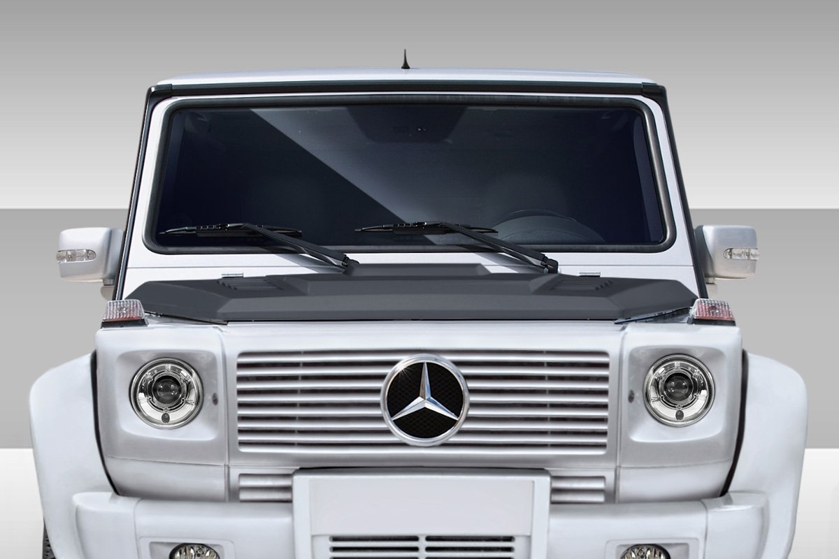 2000-2010 Mercedes G Class W463 Eros Version 2 Hood - 1 Piece