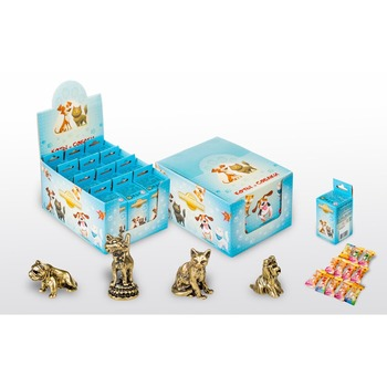 Candy Box with CATS AND DOGS toys, Best Gift