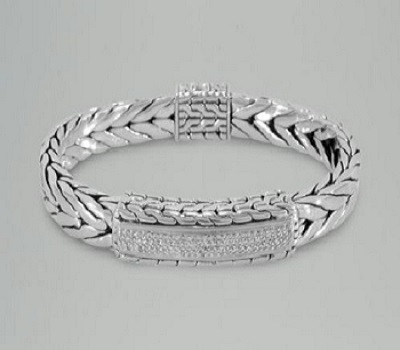 Beautiful Real Diamond Mens Bracelet In 14k White Gold Tennis Product On Alibaba
