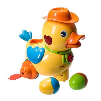 walking egg laying duck with lights sound music