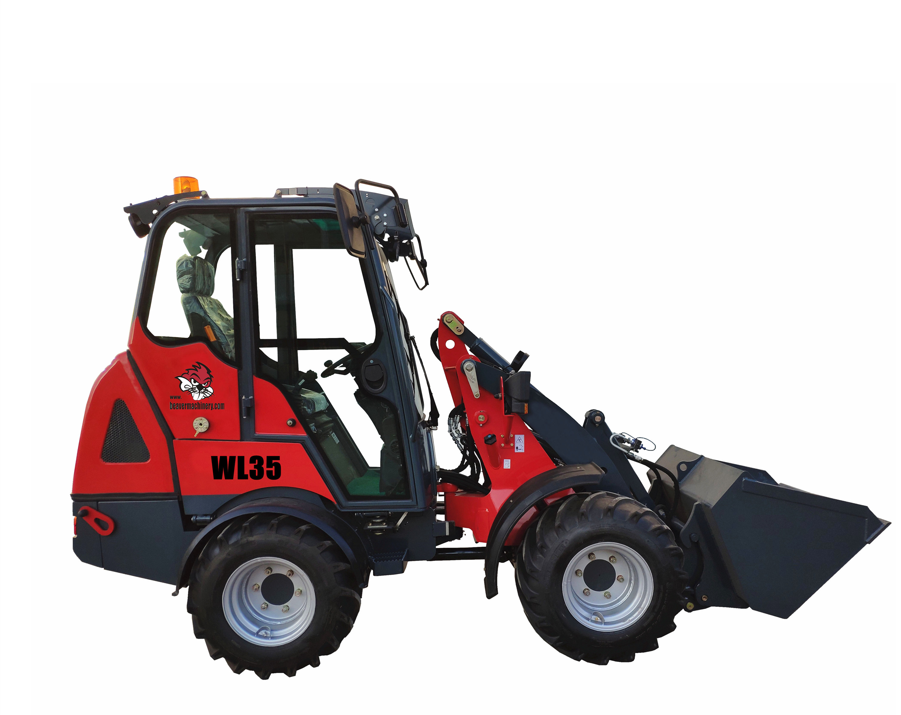 China New small wheel loader WL35 with CE & EPA for sale