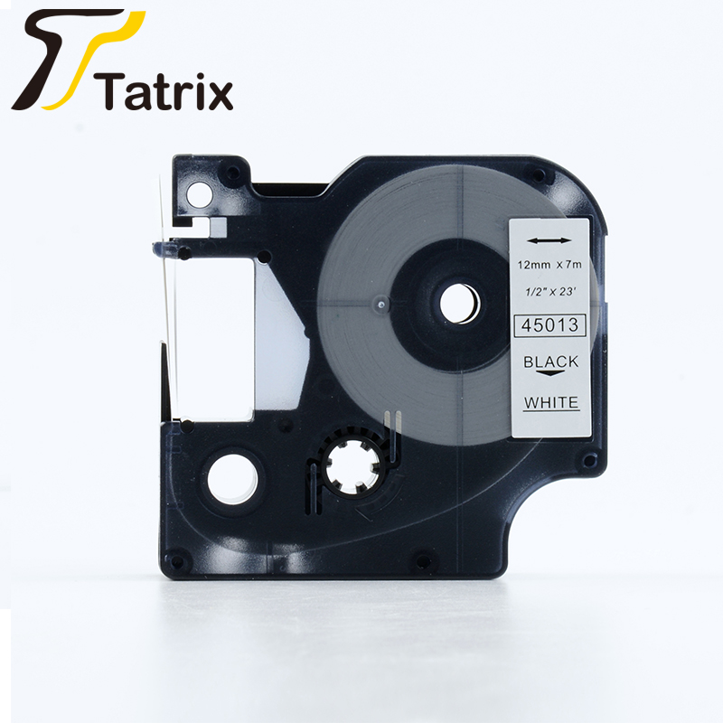 TATRIX Compatibel Gelamineerd Tepra Label Tape 45013 Voor Dymo 360D/420 p/500TS
