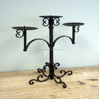 votive candle holder iron stand