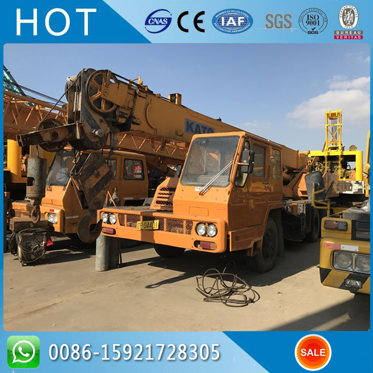 Original Color 20 Ton NK200E KATO Used Hydraulic Crane For Sale