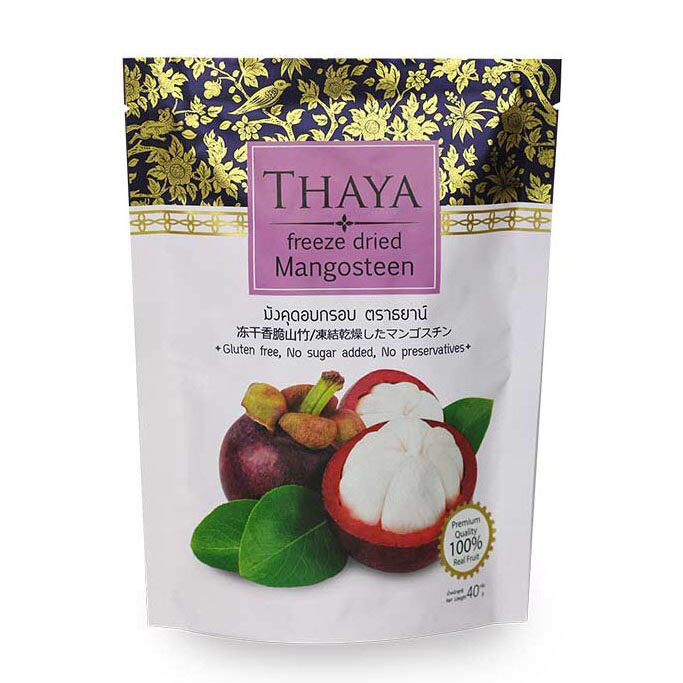 Freeze-dried Mangosteen - RETAIL 40g - from Thailand