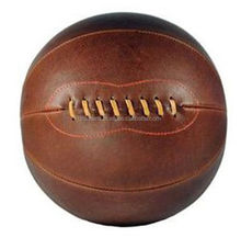 Antique Retro Style Official Size Vintage Genuine Leather Basketball
