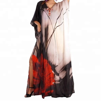 1ca417d752 Vintage and famous party wear function ,occasion wear designer long kaftan  for women