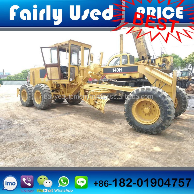 Low price used CAT 140H motor grader, used CAT 140H grader for sale