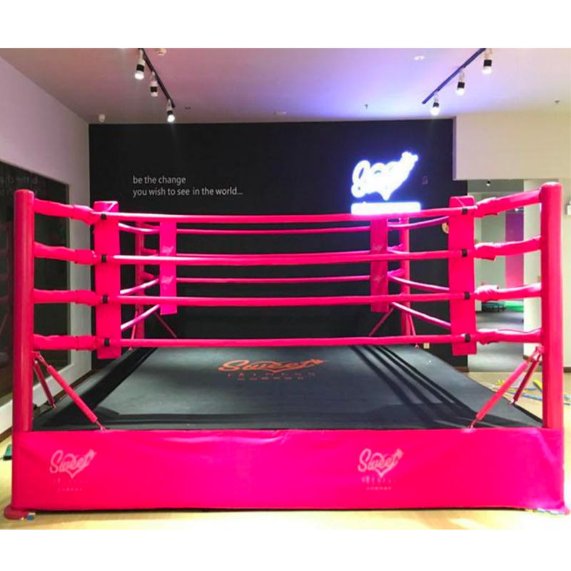Vente internationale L'IBF Commercial standard Ring Pro Cage MMA UFC Octogone Catch Tapis pour l'exportation