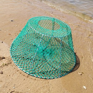 Heavy Duty Crab Trap with welded Upright Aquaculture Net