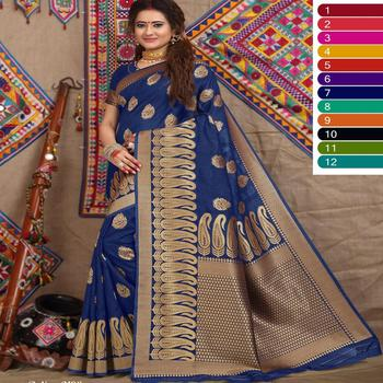 Heavy designer Party wear saree