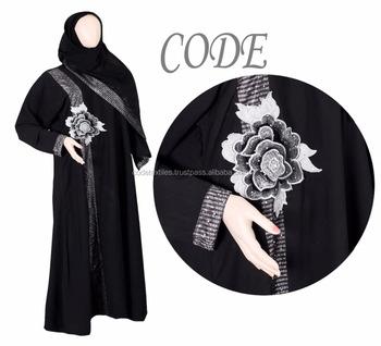 2018 Baru Manik Manik Abaya Designs Dubai Abaya Turki Fashion Baju Muslim Buy Desain Terbaru Baju Muslim Fashion Terbaru Gaun Desain Slim Baju Gamis