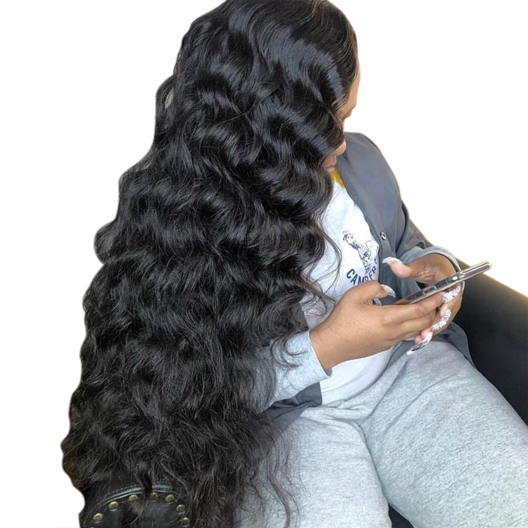 Free Sample Wholesale Raw Indian Curly Hair Cuticle Aligned Vendors Virgin Burmese Wave Weave Human Bundles Directly From India, Natural color #1b