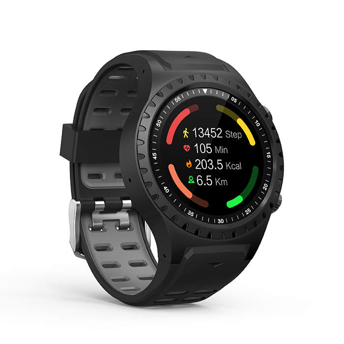 GPS smart watch with ODM/OEM service one-stop service dynamic heart rate monitor compass barometer