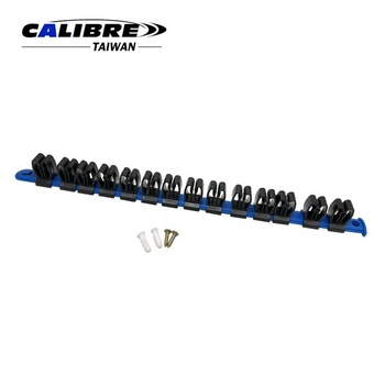 CALIBRE Plastic Rail Wall Mount Tool Screwdriver Organizer Plastic Rail Wrench Hanger