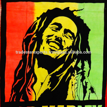 Hippie Bob Marley One Love Indian Wall Hanging - Buy Indian Wall Art ...