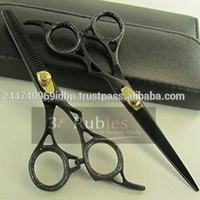 2pcs set Salon Barber Hair Cutting Thinning Scissors Shears Hairdressing Set 6'' / Professional Barber