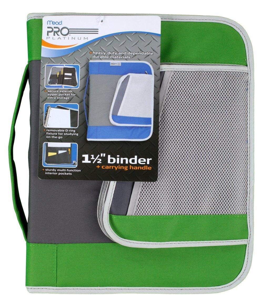Buy Mead PRO Platinum Heavy-Duty Zipper Binder With Handle