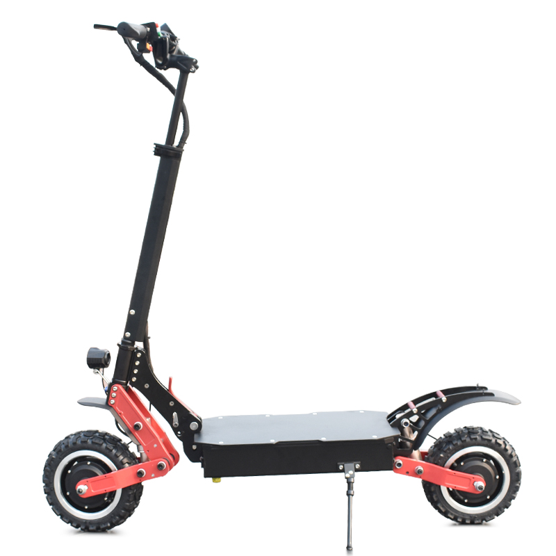Factory Price Dual Motors 11inch 60v 3200W Electric Scooter Foldable Two Wheel Powerful Scooter for Adult, Black