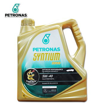 PETRONAS Syntium 3000 5W-40 Car Engine Oils