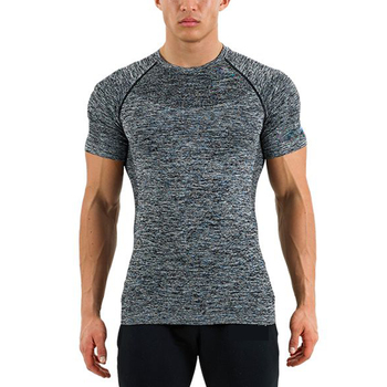 Bodybuilding muscle gym di compressione in esecuzione Casuale t shirt 2018