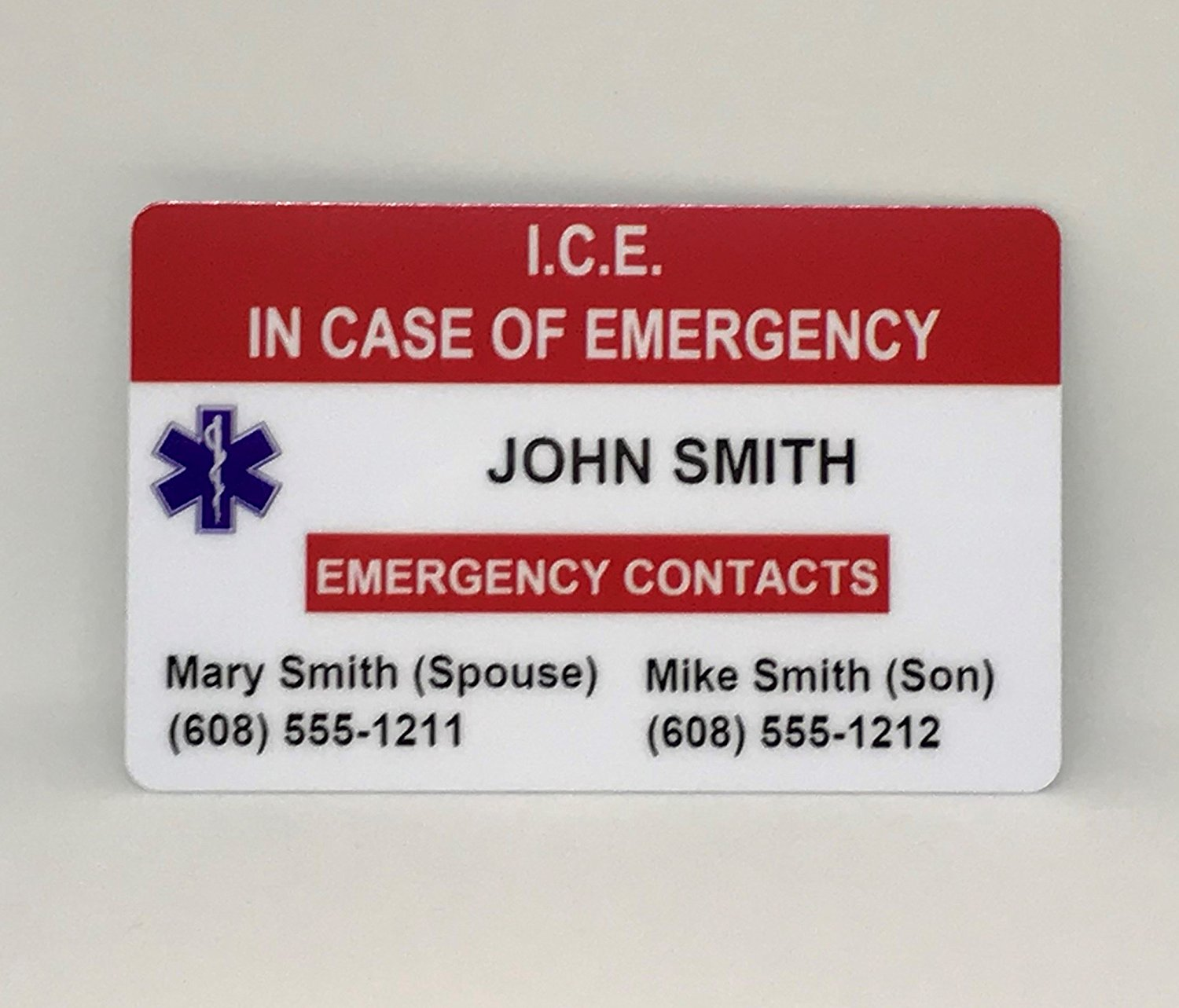 Cheap Emergency Card Template, find Emergency Card Template deals on ...