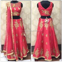 Indian Designer Gorgeous Perfect looking Lehenga Choli / Simple Lehenga / Latest Lehenga Choli Designs