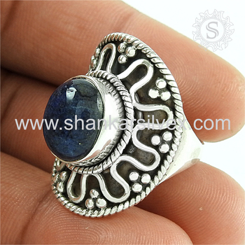 Fantabulous labradorite gemstone ring silver jewellery 925 sterling silver wholesale jewelry store