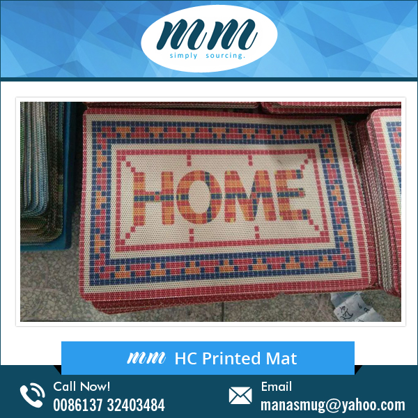 ECO-Friendly Non-slip HC Printed Doormats