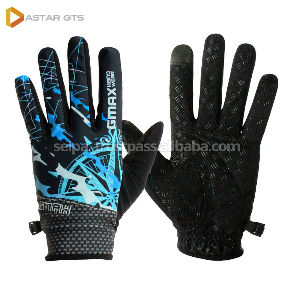 Outdoor Sports Full Finger Gloves for Climbing Bike Bicycle Made In Korea Square