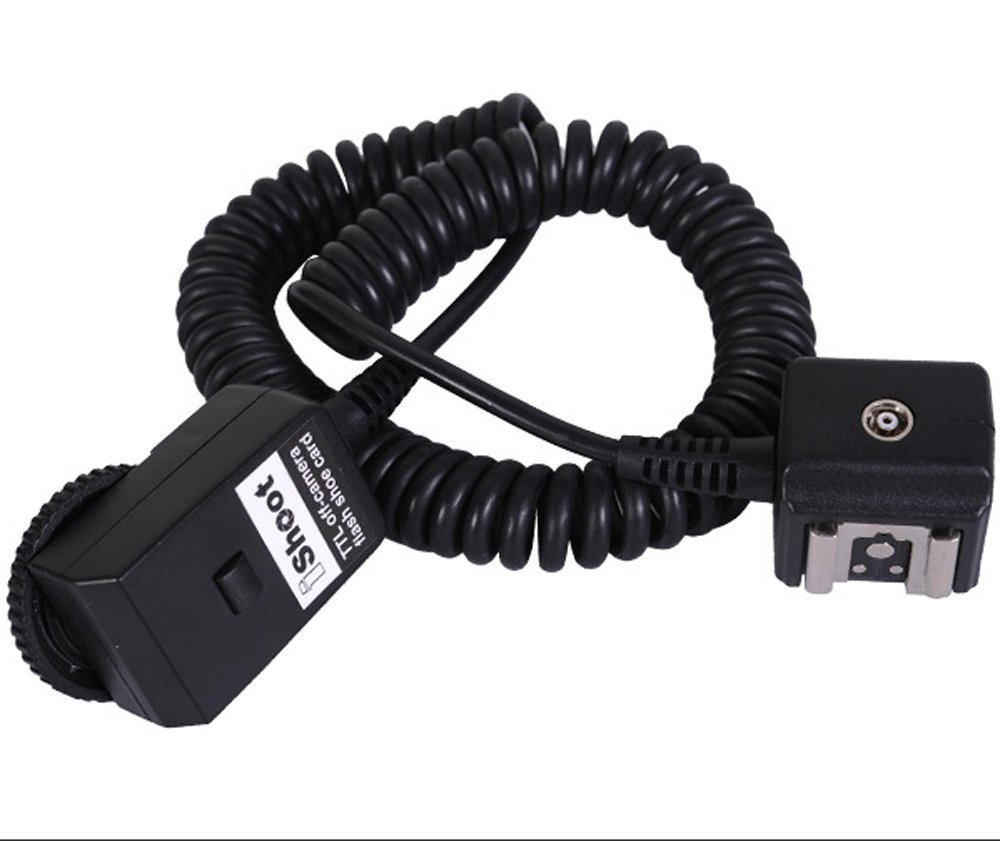 2.5m Flash Off-Camera Hot Shoe Mount SYNC I-TTL Cord/Cable With PC Jack for Nikon SC-28/SC-29