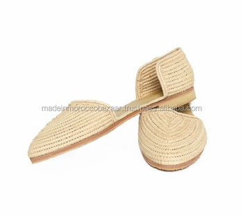 a7bb3d60c3c4 Best Quality Handmade Natural Raffia Shoes - Buy Handmade Knitted ...