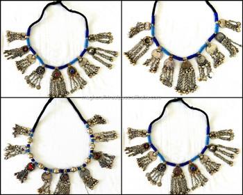 Vintage afghani necklace kuchi pendant set afghan turkmen vintage afghani necklace kuchi pendant set afghan turkmen necklace tribal ethnic kuchi necklace aloadofball Images