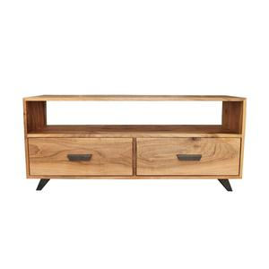 Modern industrial 2 Draw tv unit cabinet design for hall