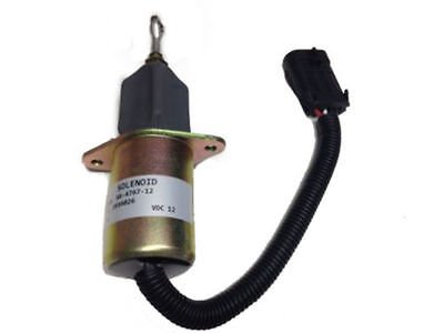 "94-98 5.9L Dodge Diesel For Cummins Fuel Shut Off Solenoid with 3"" Bolt Spacing"