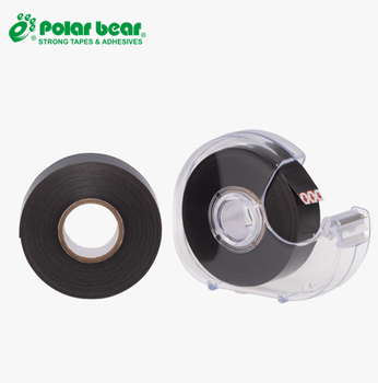 flexible strong magnetic strip tape adhesive receptive steel tape