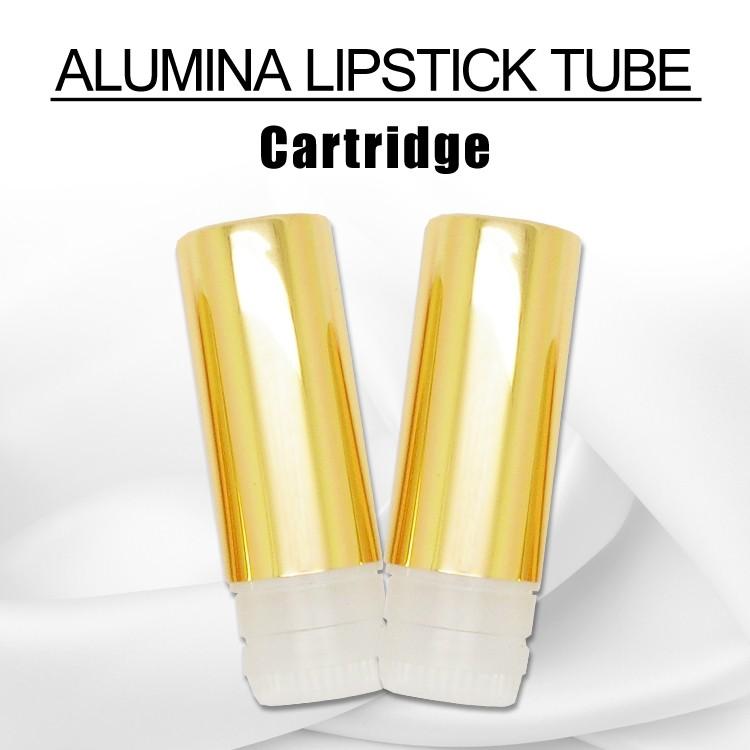 Gold pom tube