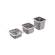 GN1/6 stainless steel food container perforated GN pan US ANTI JAM PAN