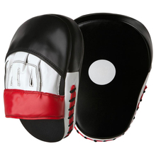 High Quality Leather Training target punch pads / PU boxing focus mitts by Ribe