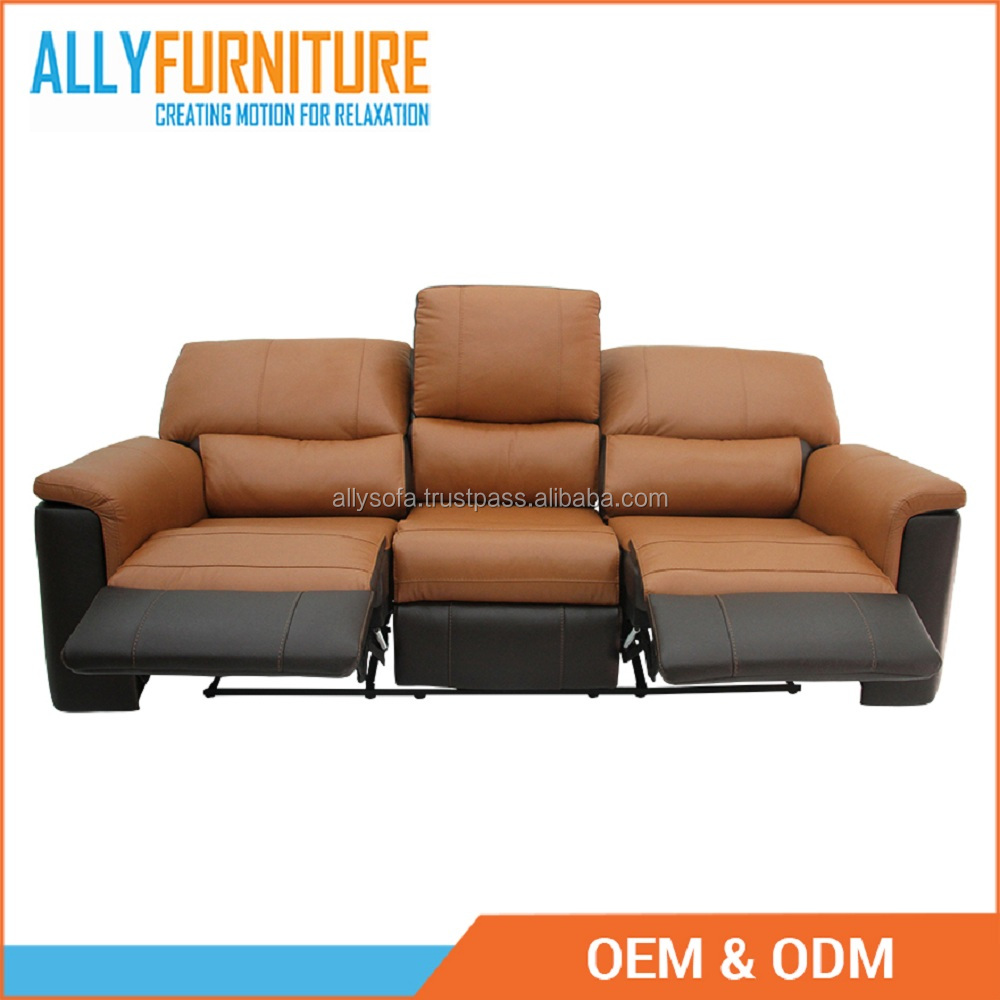 Recliner 3 Seater Glider Leather & Pvc With Modern Motion Sofa Furniture  Design Ally-003705734 - Buy Recliner Sofa,Leather Chair,3 Seat Recliner  Sofa ...