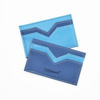 Amazon FBA Genuine Leather Card Holder For Gift with RFID Layer