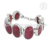 Beautiful ruby gemstone bracelet handmade jewellery 925 sterling silver jewelry bracelets exporter