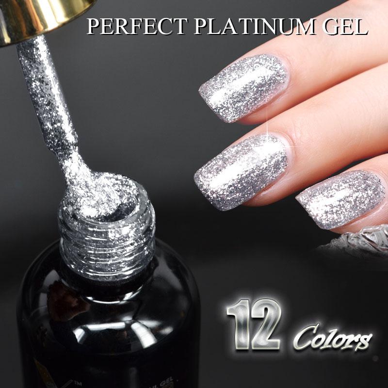Venalisa Super Color Gel Paints Crystal Lacquer Canni Nail Art ...