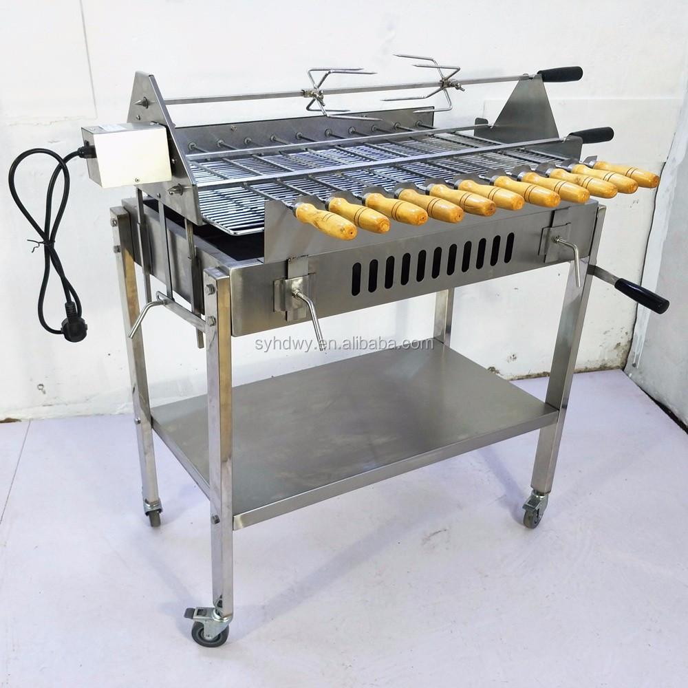 drehspieß grill holzkohle