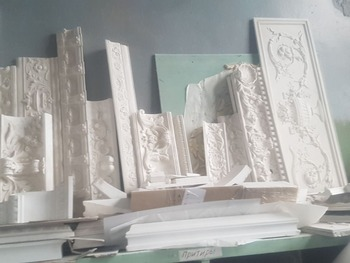 Gypsum Decoration Architecture Elements Gypsum Board