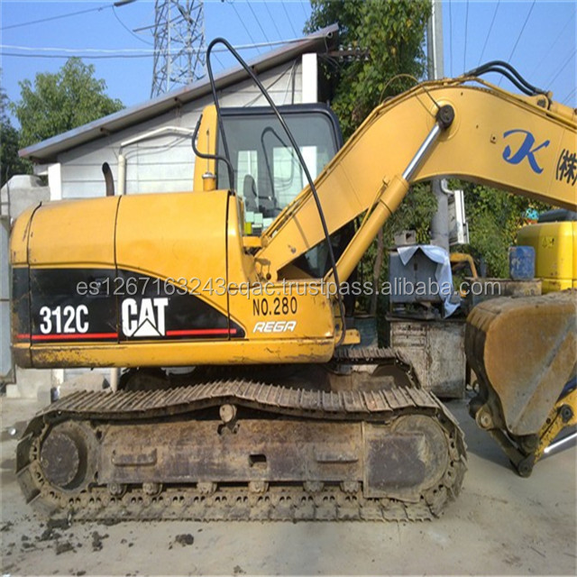 used cat excavator 312c,caterpillar used 312c crawler excavator,312c used Cat excavator caterpillar for sale