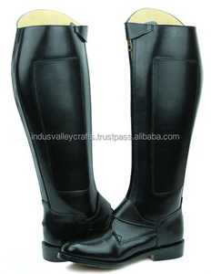 Invader-2 Man Men's Leather Equestrian argentinian Polo Boots