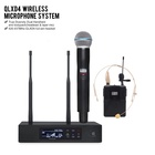 Top 5A 1:1 quality Professional QLXD4 QLXD24 Handheld BETA58 SM 58 BETA87 And Lapel Headset Combo Wireless Cordless Microphone