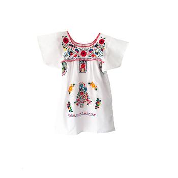 dcaaa4d87 Transpirable bebé lindo ropa de playa estilo mexicano niños niñas las niñas  de minorías étnicas mano